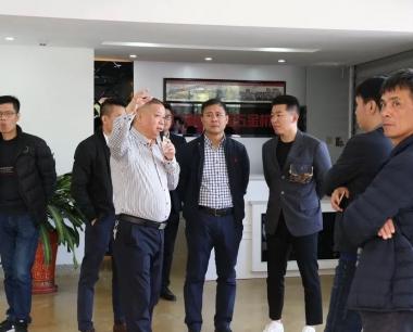 龙海市商务考察团到访海峡国际五金机电城