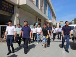 临夏州考察团到访海峡国际五金机电城