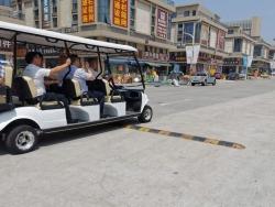 湖南安化县政协考察团考察海峡国际五金机电城